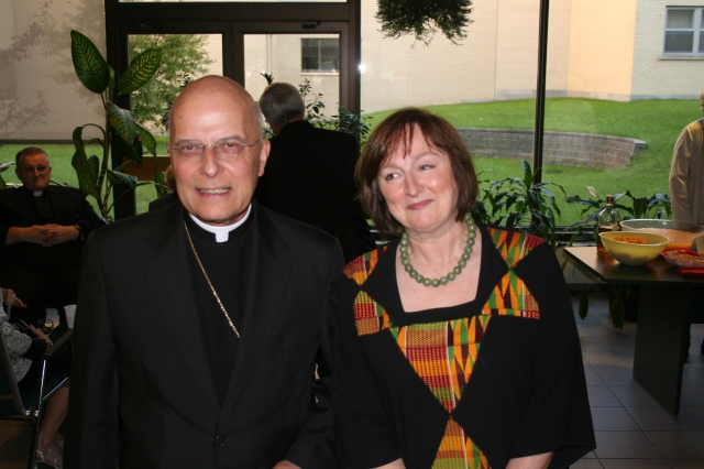 I met Cardinal George in 2008 when he was honored as alumnus of the year at Saint Paul University